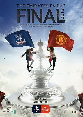 2016 FA Cup Final - Crystal Palace v Manchester United