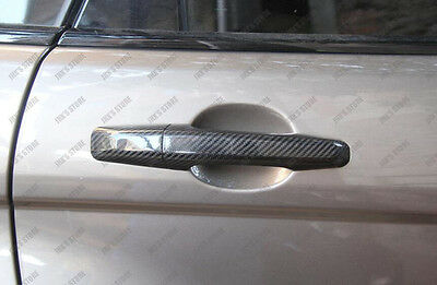 Carbon Fiber Door Handle Covers for 15+ Range Rover Freelander Evoque Discovery