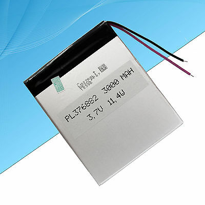 Rechargeable Polymer Lithium Battery For Android Tablet PC  3000 mAh  3.7V