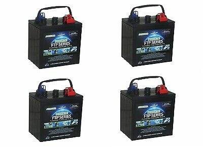 4 x  6 Volt Powabloc T105 Deep Cycle Battery (FFP6210)