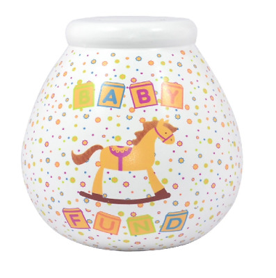 Pots Of Dreams Baby Fund Money Box New Boxed Gift Pot