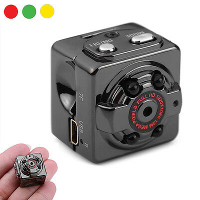 Mini telecamera spia micro camera nascosta Full HD Auto Car SQ8 infrarossi video