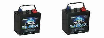 Pair of 2 x 6 Volt Powabloc T145 280 AH Traction Battery (FFP6260)