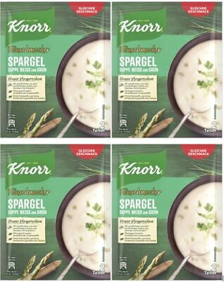 Knorr Gourmet Soup Mix: Cream of Asparagus White & Green, 2 Portion Pack, German