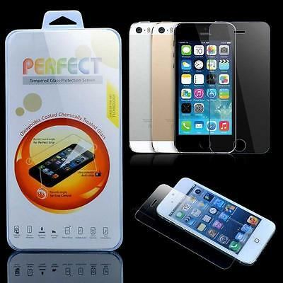 For iPhone 7 Premium Real Tempered Glass Screen Protector 2.5D 9H Plus