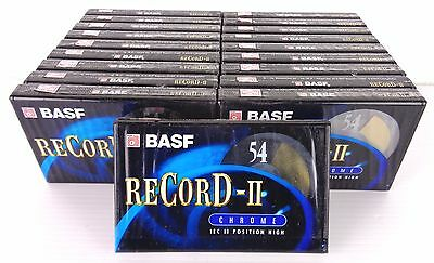 basf record 2, chrome, 54 min, 19 pezzi, new factory saled