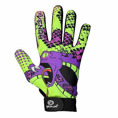 optimum velocity Full Finger Glove Venom - Purple/Green XL