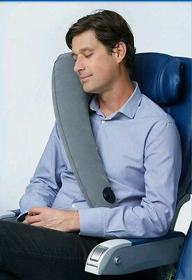 INFLATABLE TRAVELREST TRAVEL PILLOW,NECK SURPORT,COMFORT, CAMPING ,fast post
