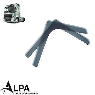 Volvo FH4 (2013-) Wind Deflector Set - Smoked Style