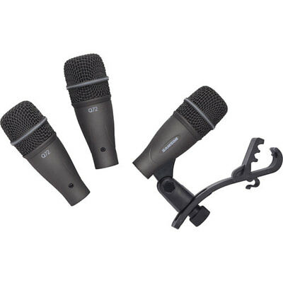 Samson DK703 3-Piece Drum Microphone Kit with Carry Case