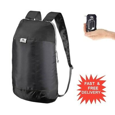 Quechua Arpenaz  10L Ultra Compact Backpack Foldable Rucksack Ultra Light Hiking
