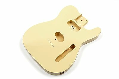 Cuerpo crema guitarra Telecaster tilo - Cream Basswood TL electric guitar body