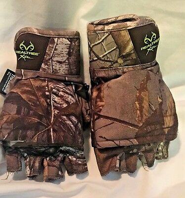 Mossy Oak RealTree Xtra Youth XL Gloves Thinsulate Insulation