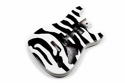 Cuerpo Zebra guitarra Stratocaster tilo - Zebra Basswood electric guitar body