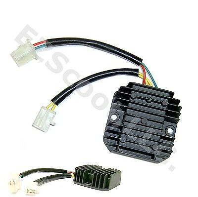 OEM VOLTAGE REGULATOR/ RECTIFIER 12V 5 PIN 50-250cc GY6 4STROKE SCOOTER ROKETA