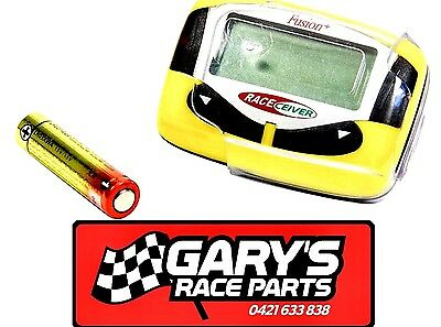 Raceceiver Fusion + ,one-way Communicator , speedway , racecar , sprintcar
