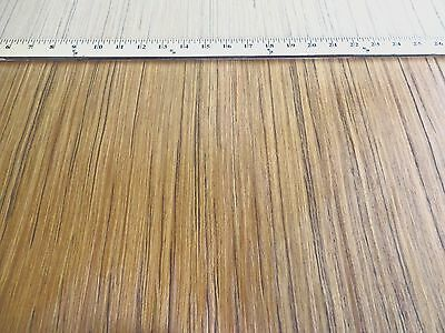 """Indian Teak composite wood veneer 24"""" x 48"""" on paper backer 1/40th"""" thickness"""