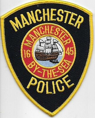 Manchester Mass Ma Police Dept Schooner By The Sea Mpd Pd Lot Of 1 State Local