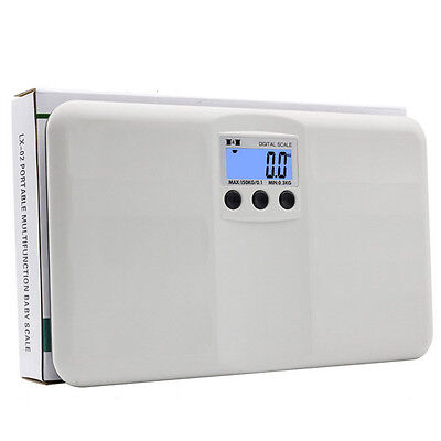 330lb/150kg Electronic Digital Personal Bathroom Body Weight Portable Scale