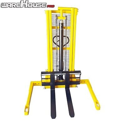 New 1000kg Manual Straddle Leg Lifter- Lift Sizes 1.6, 2.5 or 3 metre- Hydraulic