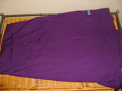 Women's Cherokee Scrub Bottoms Pants Solid Purple ~ Size Small