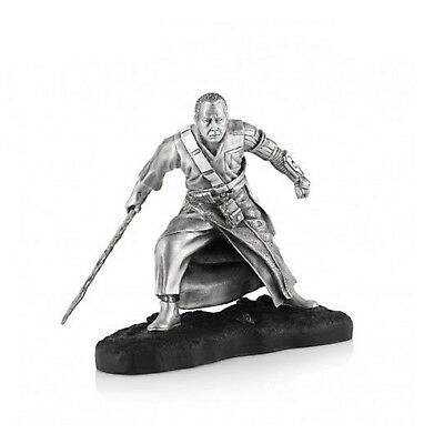 Star Wars Pewter Limited Edition Chirrut - Officially Licensed by Royal Selangor