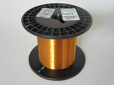 40 AWG   4.8 oz.  Essex Thermalex Heavy Enamel Coated Copper Magnet Wire