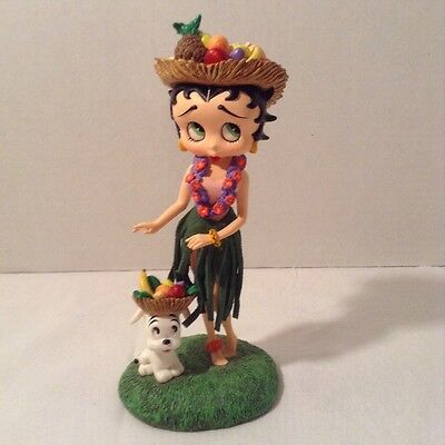 "Betty Boop ""Hawaiian Holiday"" Figurine - Danbury Mint"