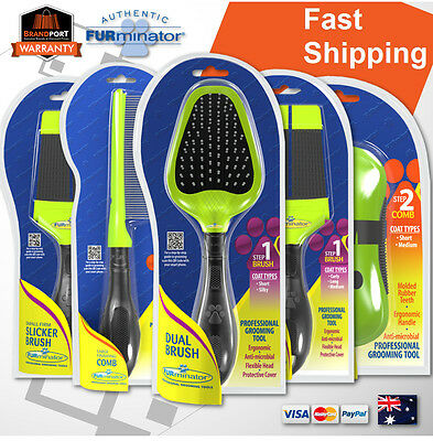 Furminator for Dogs, Cats grooming/finishing brush comb tool *AUTHORISED DEALER*