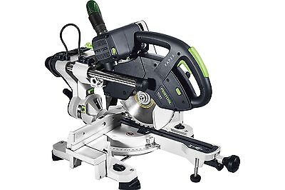 Festool KAPEX KS 60 E-SET 110V Sliding Compound Mitre Saw (Bevel + LED) - 561693