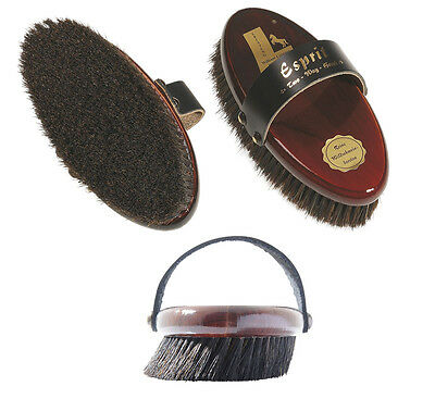 "William Leistner ""ESPRIT"" Two-Way Horse Grooming Brush"