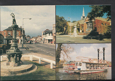 Northamptonshire Postcard - Views of Kettering  BH6362