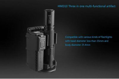 Tactically Equipped IMALENT HMD10 Speed Dial Sleeve Flashlight Holster Single