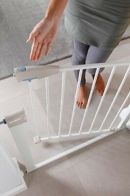 Lindam Sure Shut Porte Safety Gate Children Stair Baby Pet Close 1 Handed Open
