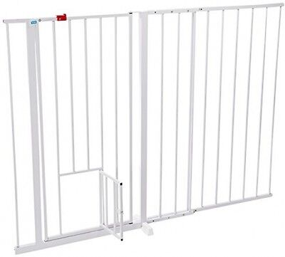 Carlson Maxi Extra Tall 96cm And Extra Wide 150cm Gate 60cm Extension Pet Baby
