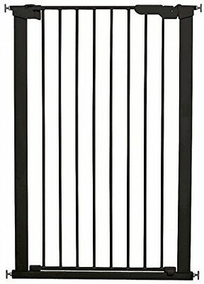 BabyDan Extra Tall Pressure Indicator Safety Gate Black Stair Pet Baby Close New