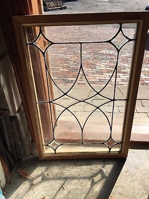 Sg 1222 Beveled Leaded Four Point Window 22.5 X 32.5