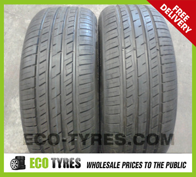 205/55 R16 Budget Tyres Runflat  91W  X2   *NEW*  BUDGET CHEAP 2055516 RSC PAIR