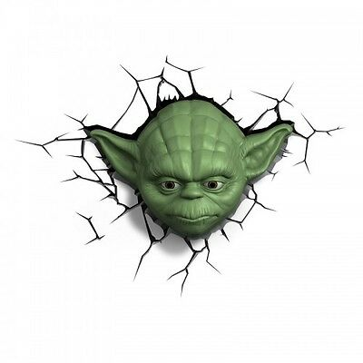 Lampara 3D Deco Ligth Yoda Head