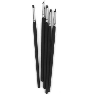 20x Rubber Clay Pen Sculpting Carving Pottery Modelling Pen Making Tool Set