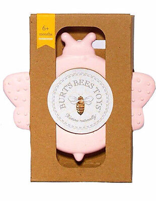 "Burt's Bees Toys BPA-FREE Baby Bee Teether, ""Beether"" for girls 6+ Months"