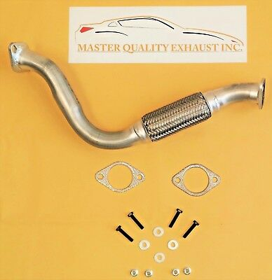 2000, 2001, 2002, 2003, 2004 Ford Focus 2.0L Dohc Front Flex Pipe W/ Free Gasket