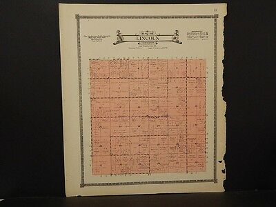 Iowa, Montgomery County Map, Lincoln Township, 1919  K7#69