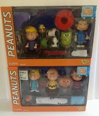 2002 Memory Lane Peanuts Gang Figure Collection Great Pumpkin Charley Brown-NEW!