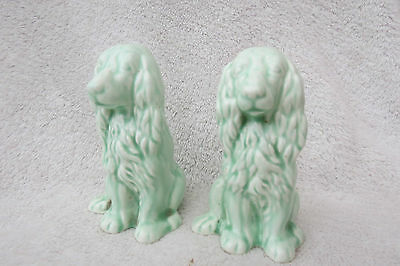 Vintage Sylvac ? Spaniel Salt And Pepper Pots