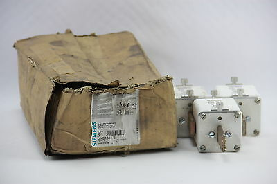 BOX OF 3 Siemens 3NE1331-0 Sitor Fuse Link NH2 690VAC 42W 350A w/Blade Contacts
