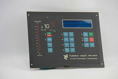 VIC Turbo-Test MD-390S Display Panel for Leak Detection Unit