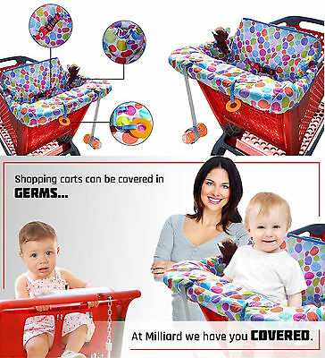 Shopping Cart Cover Baby Seat Infant Chair Grocery Highchair FREE SHIPPING NEW