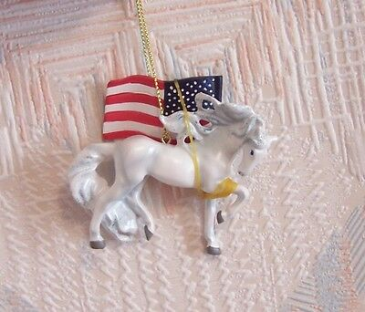 Painted Ponies Unconquered Christmas Ornament