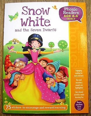 Phonics Level 2 Reading Book Children Age 4 5 6 Pre-School / Year 1 Early Reader